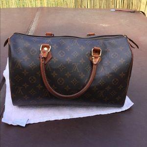 Authentic speedy #35 Louis Vuitton Bag